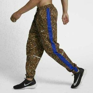 Nike Repel Cheetah Track Pants Dri-Fit Extra Small